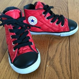 Cutest Converse High Tops!  Infant size 7.